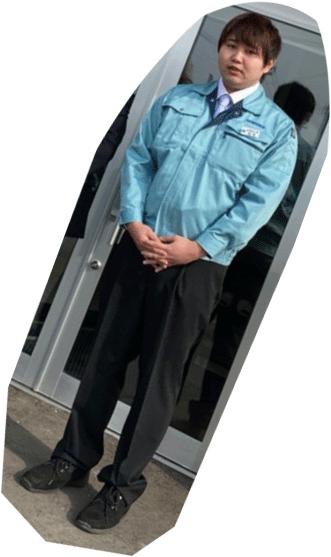 2020年新卒の白木さん(北海学園大学)