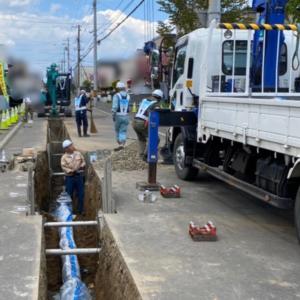 北区屯田地区配水管整備工事(改良)・施工状況(2)image