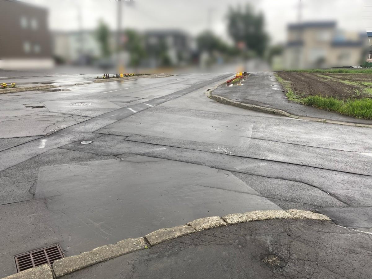 北区屯田地区配水管整備工事(改良)・施工状況(4)
